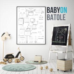 Plakát BabyON Batole
