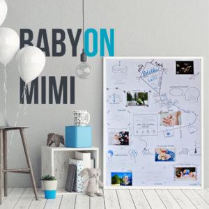 Plakát BabyON Mimi